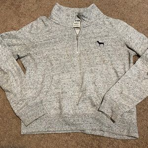 Gray crewneck from pink by Victoria's Secret